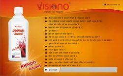 Visiono ENERGY DRINK JEEVAN ANAND RAS, Pack Type: Bottel