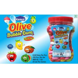 Kamco Olive Bubble Gum