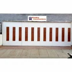 Motorized Multipanel Garage Doors