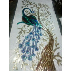 Wedding Embroidery Backdrop Panel
