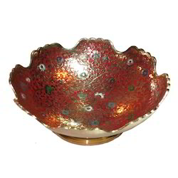 Brass Round Cut Bowl