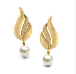 Maa Gayatri Jewellers Golden gold earrings