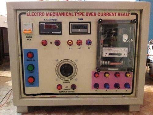 Idmt Over Current Relay Testing Kit (mechanical Type)