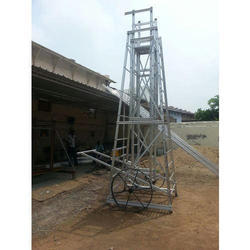 Aluminum Square Tower Ladder