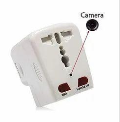 White Direct Plug Camera