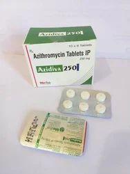 Azidiva 250毫克阿奇霉素片剂