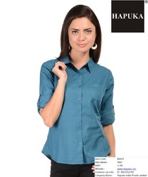 Plain Ladies Formal Shirt