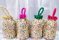 Potli Bag Kantha Embroidery