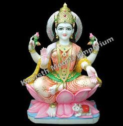 Marble Lakshmi Ma Statue