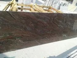 Brown Thick Slab Paradiso Classico Granite, Thickness: 20-25 mm