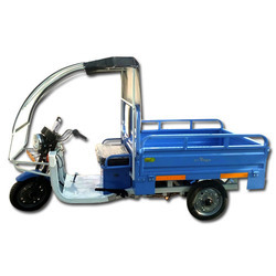 500 Kg Battery Operated Loader E Rickshaw