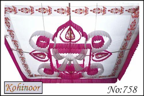 Manufacturer of Swiss Tent & Ceiling Shamiyana by Kohinoor