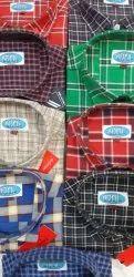 Men's Check Cotton Shirt