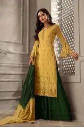 Pr Fashion Launched Beautiful Designer Sharara Suit