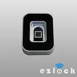 EZ LOCKS Black & White Fingerprint Cabinet Lock