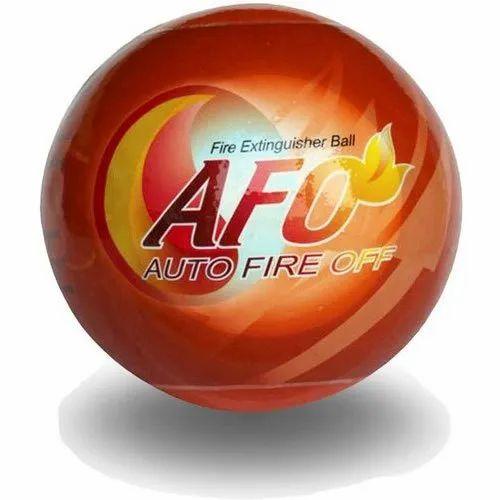 15 Cm Mild Steel TFC0001 AFO Fire Extinguishing Ball, 1.3 Kg