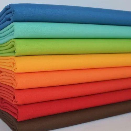 Maheshwari Plain Cotton Fabrics, GSM: 100-150