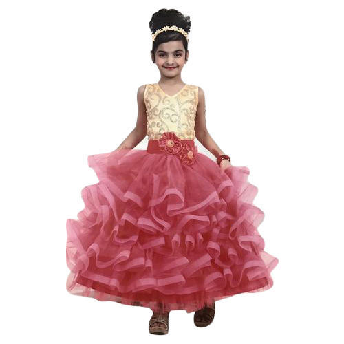 Girl Fancy Gown at Rs 1295 /piece | Bachchon Ka Gown, किड्स ...
