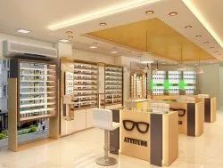 Optical Showroom Interior Design Service - New