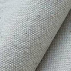 Grey Canvas Fabric Fair Trade Organic Cotton GOTS