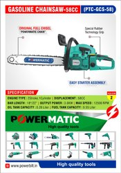 Petrol Chainsaw 58cc Powermatic