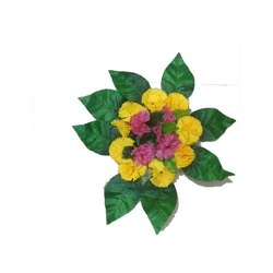 Phulwari Yellow And Green Artificial Gifting Flower Bouquet
