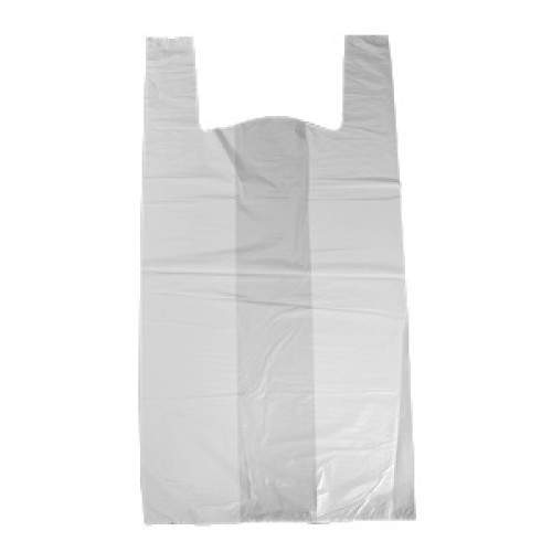 White Plain 50 Micron Plastic Bag 73ef1f07542e9