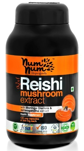 reishi mushroom extract capsule (ganoderma lucidum) at rs 1500, Skeleton