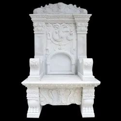 Marble Carved Chair