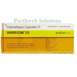 Inmecin 25mg Capsules