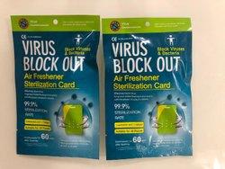 Virus Block Out Card