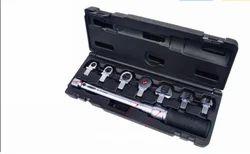 Interchangeable Head Torque Wrench Set