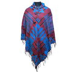 Bohemian Hippie Clothing Diamond Poncho