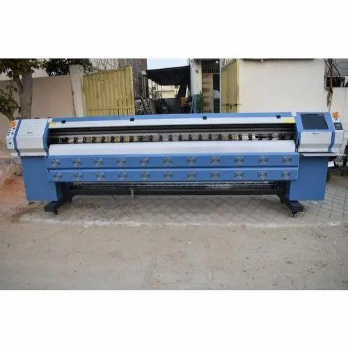 Eco Flex Solvent Printing Machine