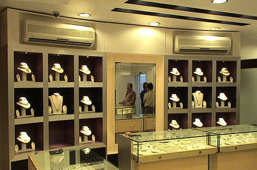 Jewelry Shops Interior Designing Services in Agrawal Mall Ahmedabad