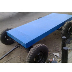 HV Engineering 4 Wheel Mild Steel Generator Trolley