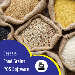 Cereals and Food Grains POS Software