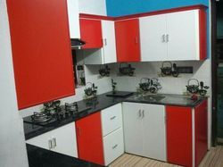 Residential Aluminium Modular Kitchen
