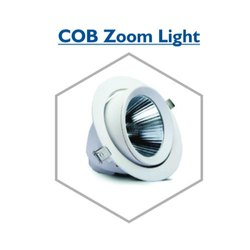 White 30W COB Zoom Light, IP Rating: IP33
