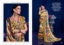 Rachna Georgette Sayna Catalog Saree Set For Woman 3
