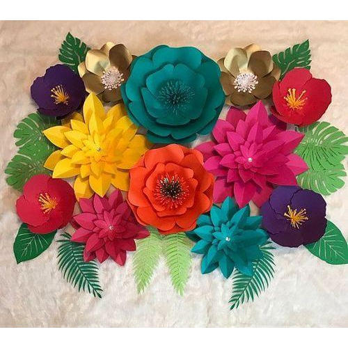 Paper handmade paper flower rs 120 piece bash n splash id paper handmade paper flower mightylinksfo