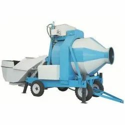 Electric Engine RM 1050 Reversible Drum Mixer, For Used To Mix Concrete