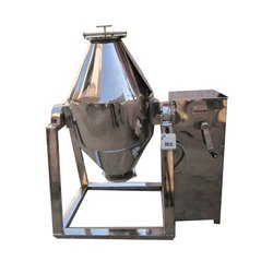 YPM Stainless Steel Double Cone Blender, Automatic Grade: Semi Automatic, Capacity: 50 Kg