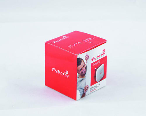Printed Red Packaging Box