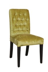Omacme Wood And Velvet Fabric PDC 707 Restaurant Chairs, Seating Capacity: 1 Seater
