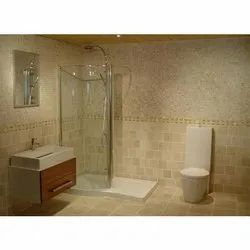 Ceramic Bathroom Wall Tile, Size: 12 x 18 Inch, Thickness: 5-10 mm