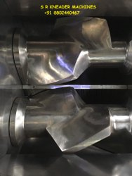 Kneader Chamber 3 Blade Rutters