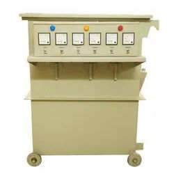 50 kVA Vertical Rolling Contact Voltage Stabilizer