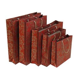 Eco Friendly Printed Paper Bag, For Shopping, Capacity: 2 to 8 Kg