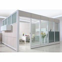 Aluminium Office Partition Cabin